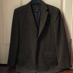 Brown Claiborne men's sport coat size 42R